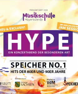 HYPE – Die Popabteilung der Musikschule stellt sich vor