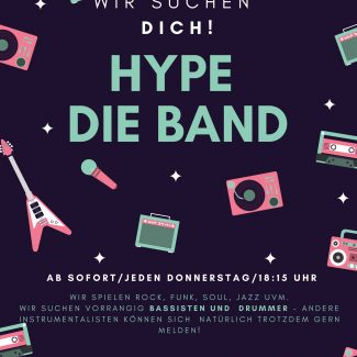 HYPE - DIE BAND